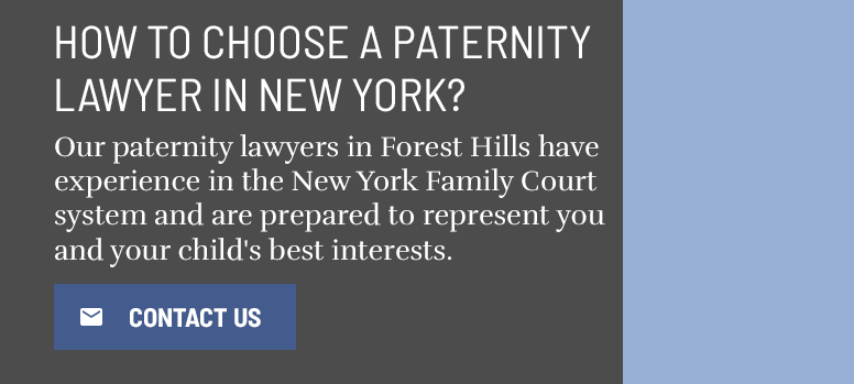 Paternity Establishment Lawyer Forest Hills Queens NY